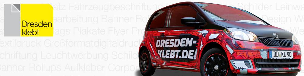 Dresden klebt - Fahrzeugfolierung